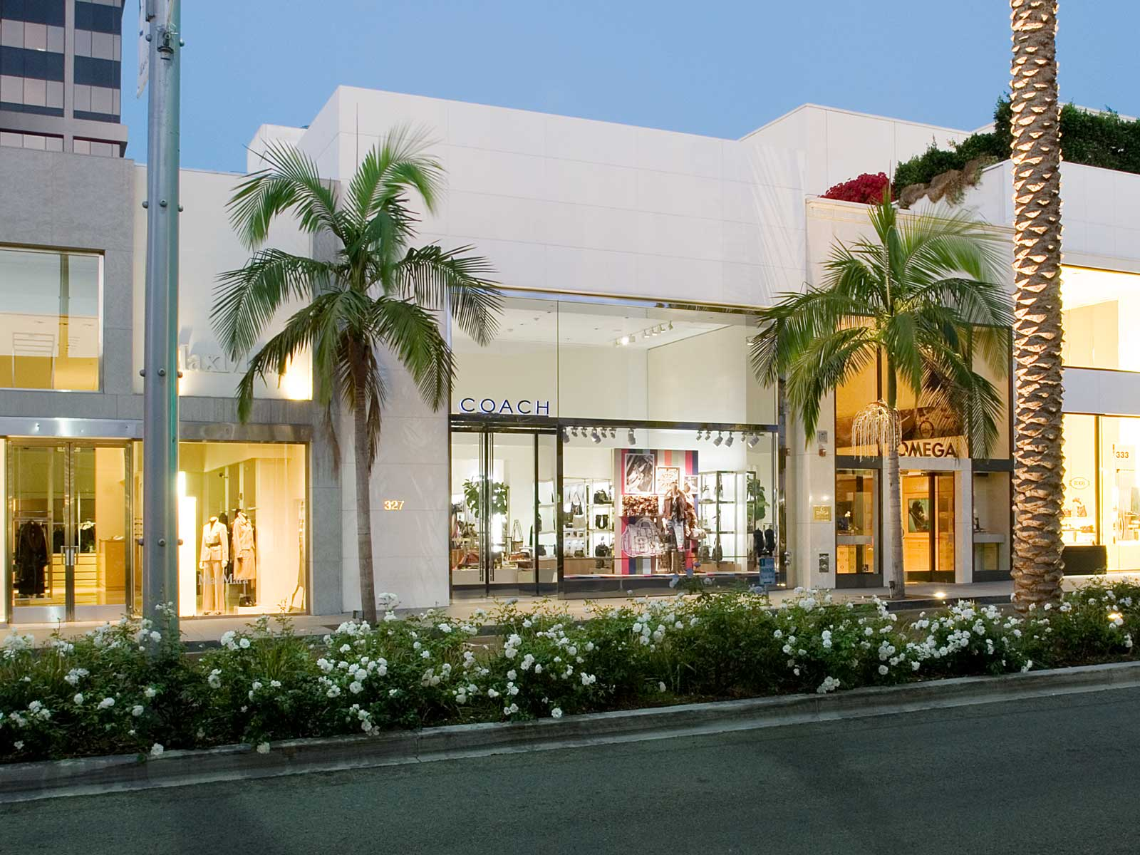 COACH Rodeo Drive store exterior