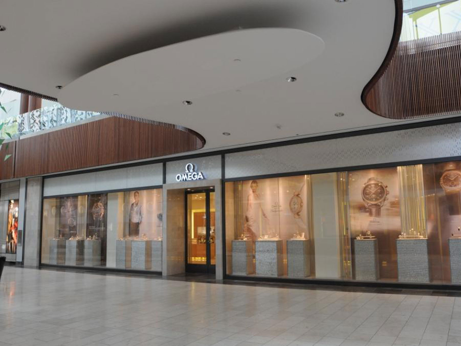 Omega store exterior