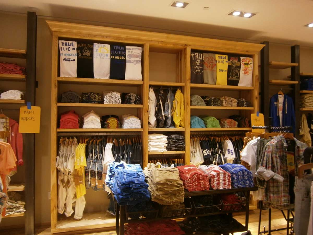 True Religion store interior