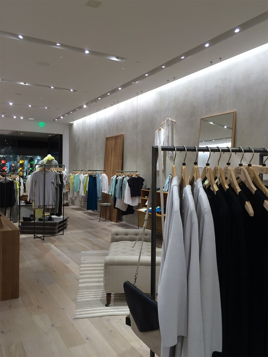 Eileen Fisher store interior