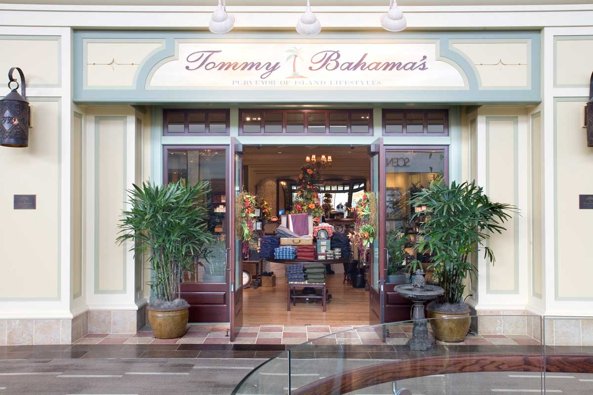 Tommy Bahama's store exterior