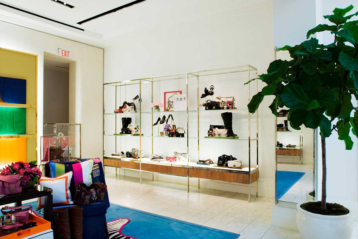 COACH Rodeo Drive store interior