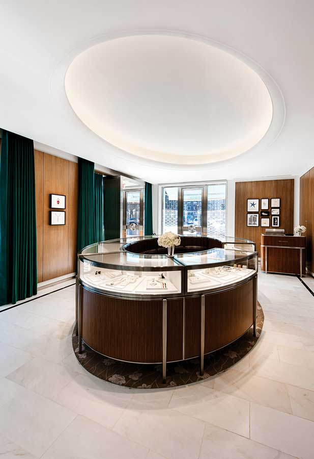 Tiffany & Co. store interior