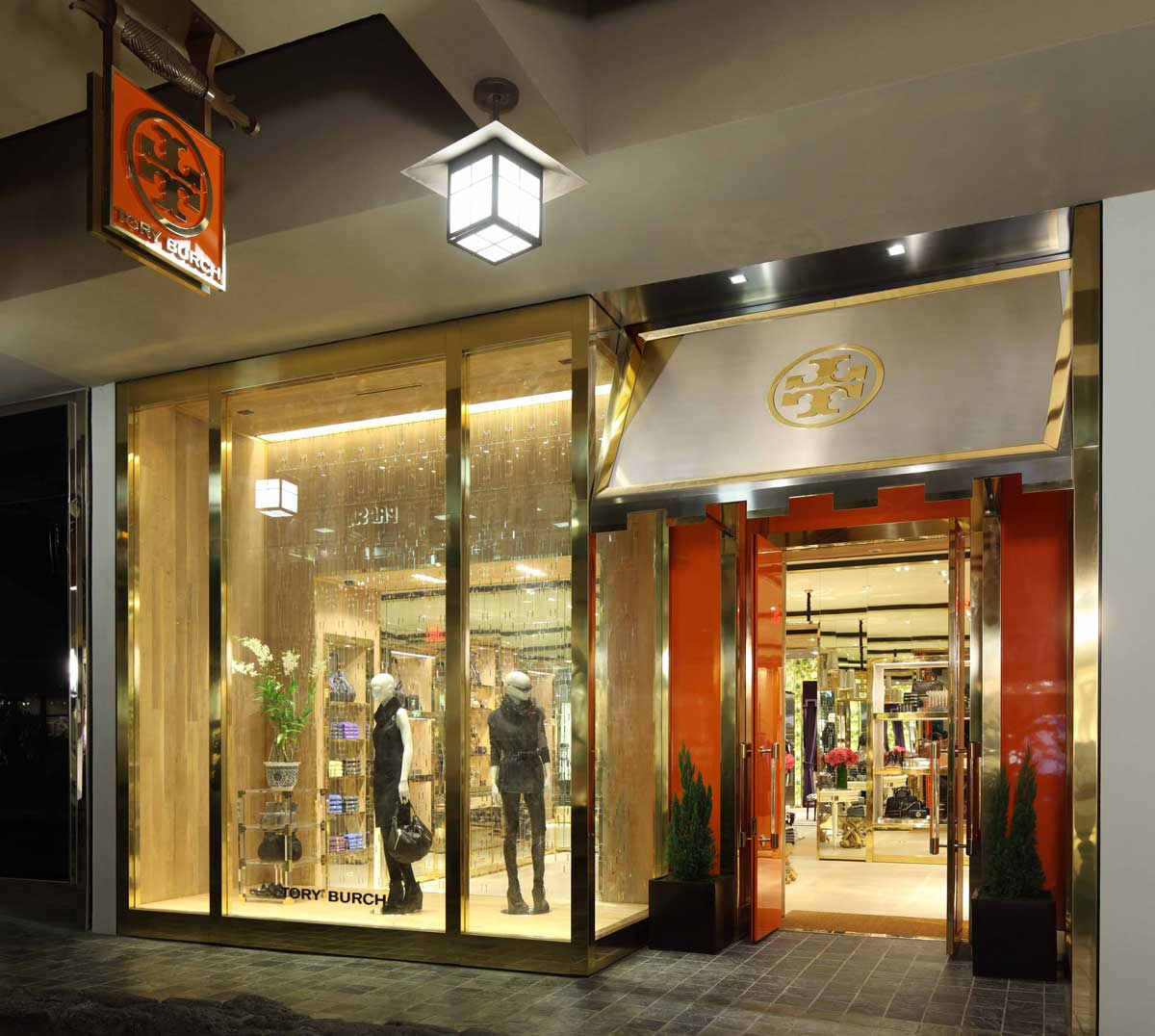 Tory Burch store exterior