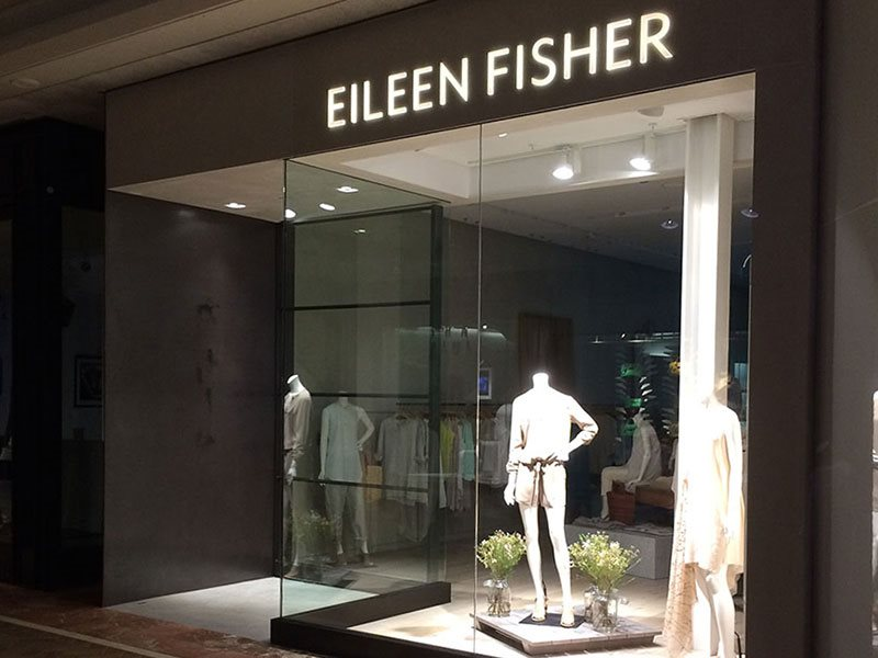 Eileen Fisher store exterior