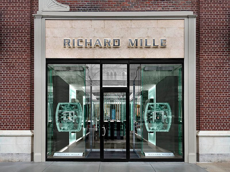 Richard Mille store exterior