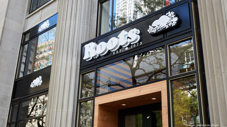 Roots store exterior