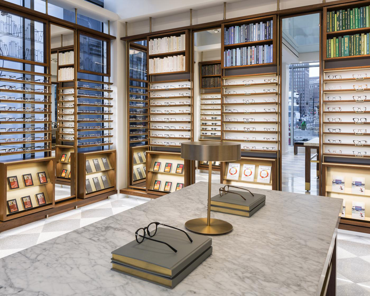 Warby Parker store interior