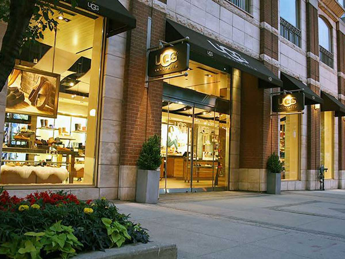 UGG store exterior