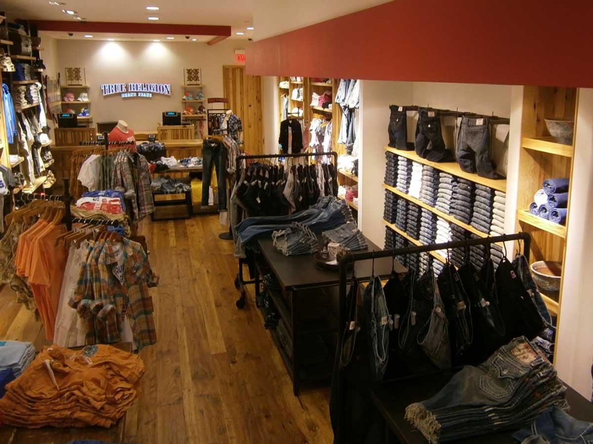 True Religion store interior