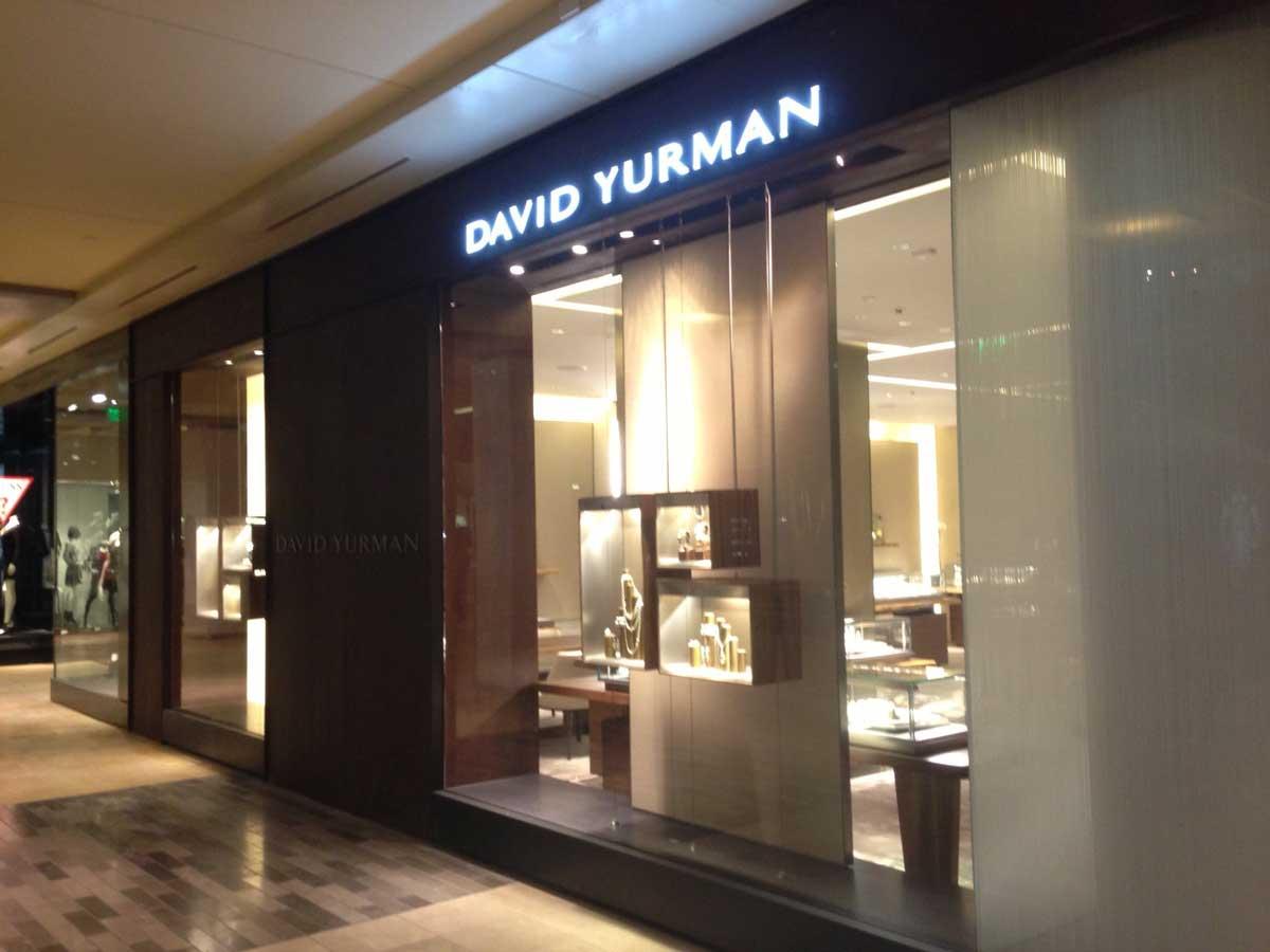 David Yurman store exterior