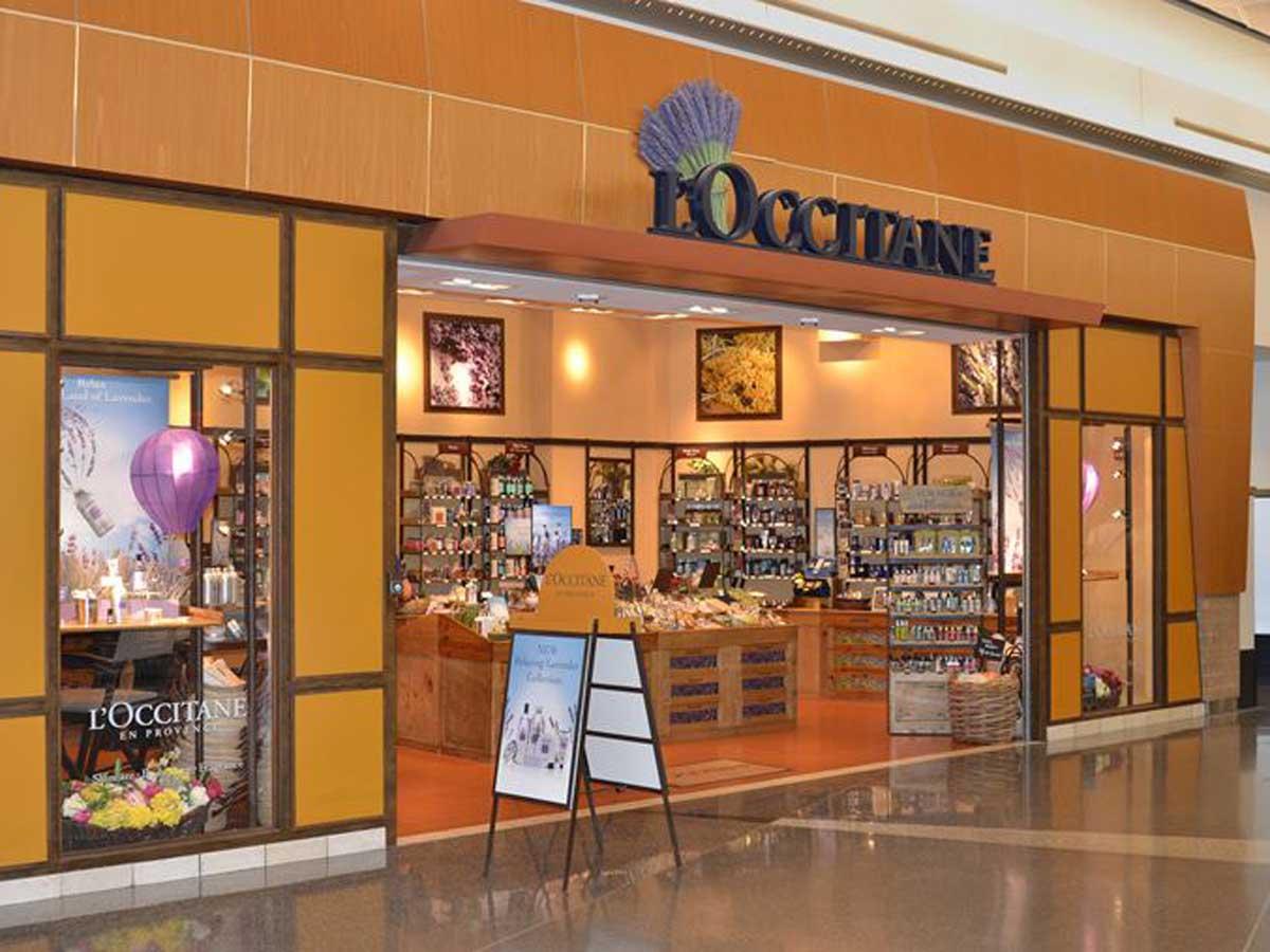 L'Occitaine store exterior
