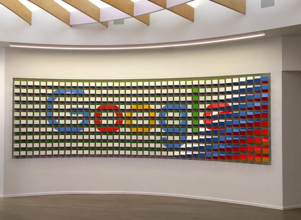 Google Store wall