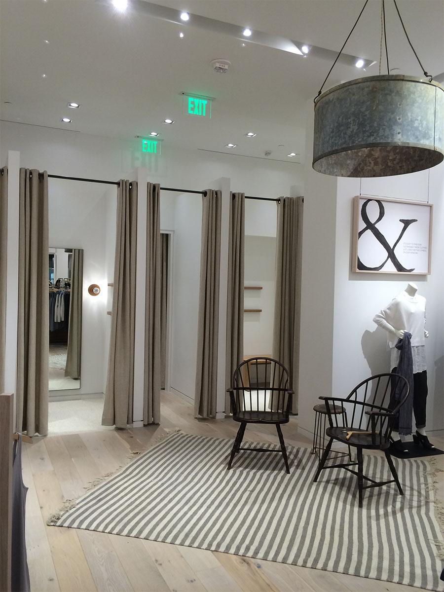 Eileen Fisher store interior