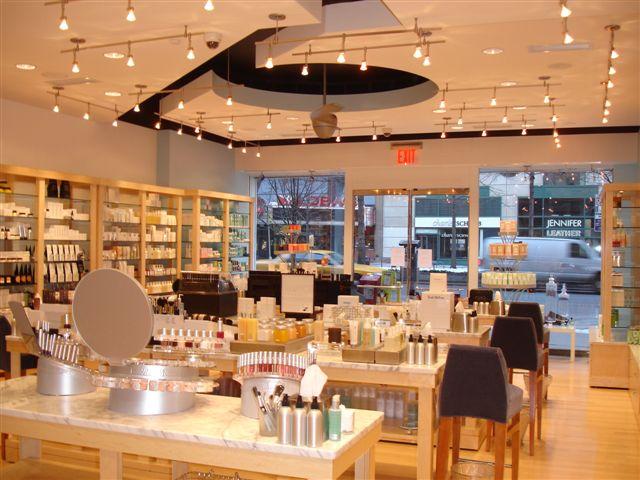 Blue Mercury store interior