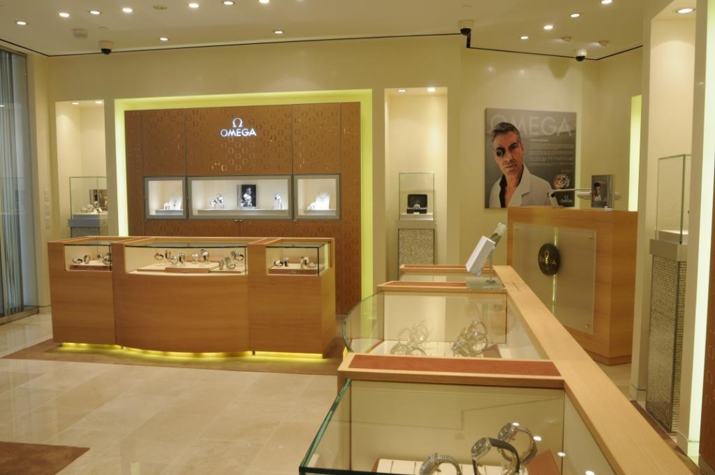 Omega store interior