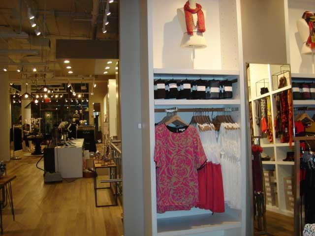 Ann Taylor Loft store interior