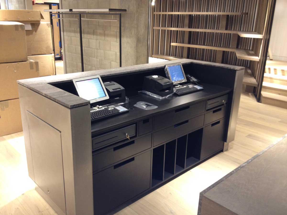 Intermix store interior