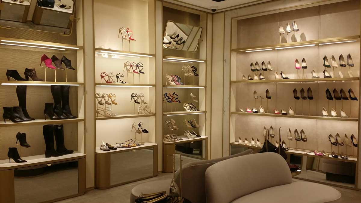 Jimmy Choo store interior