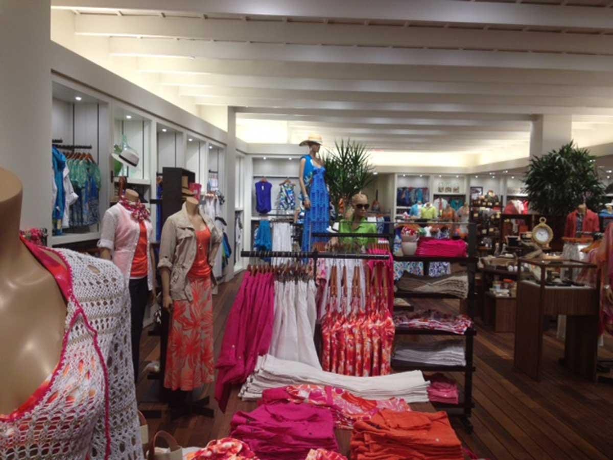 Tommy Bahama's store interior
