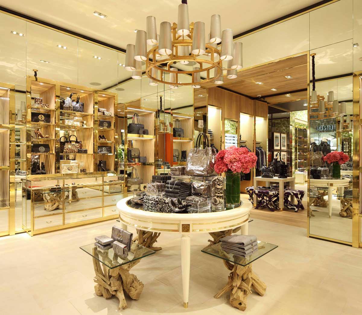 Tory Burch store interior