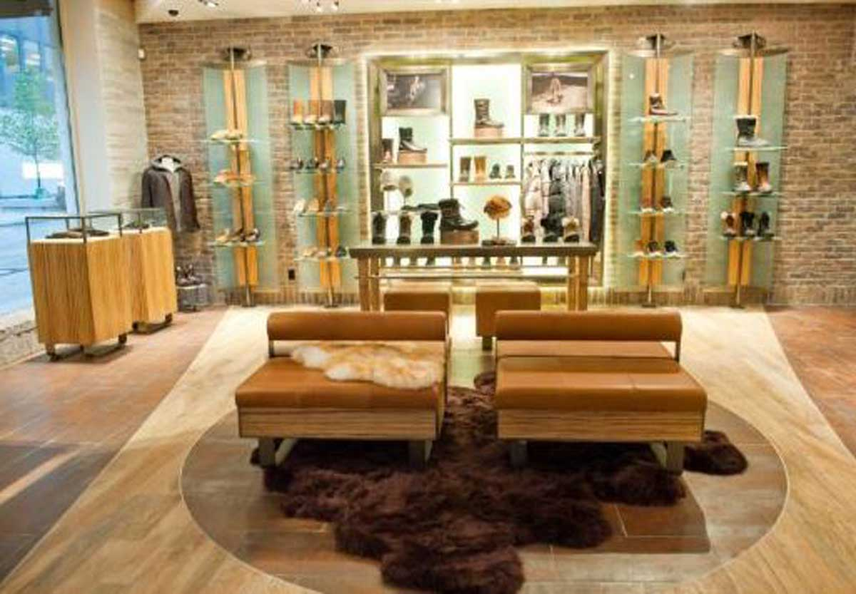 UGG store interior