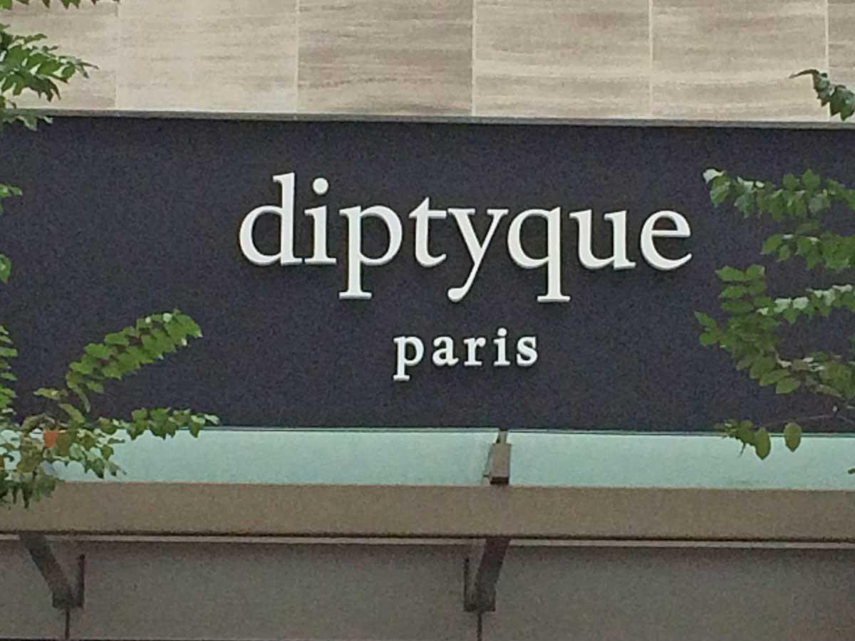 Diptyque store exterior