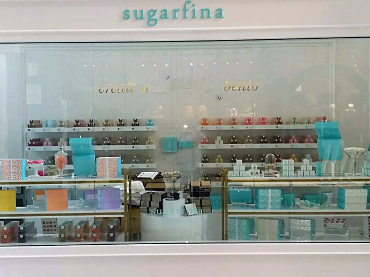 Sugarfina store interior