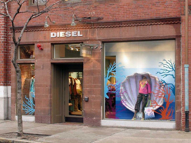 Diesel store exterior
