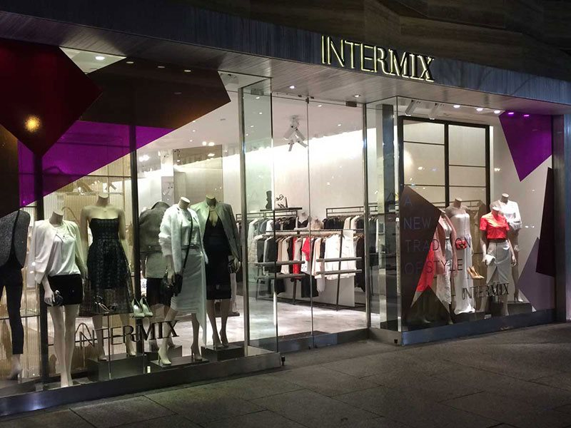 Intermix store exterior