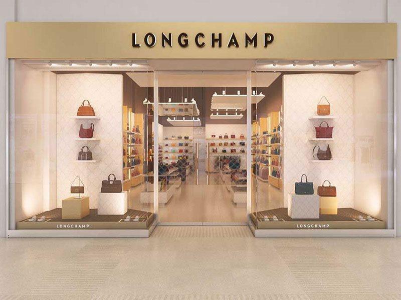 Longchamp store exterior