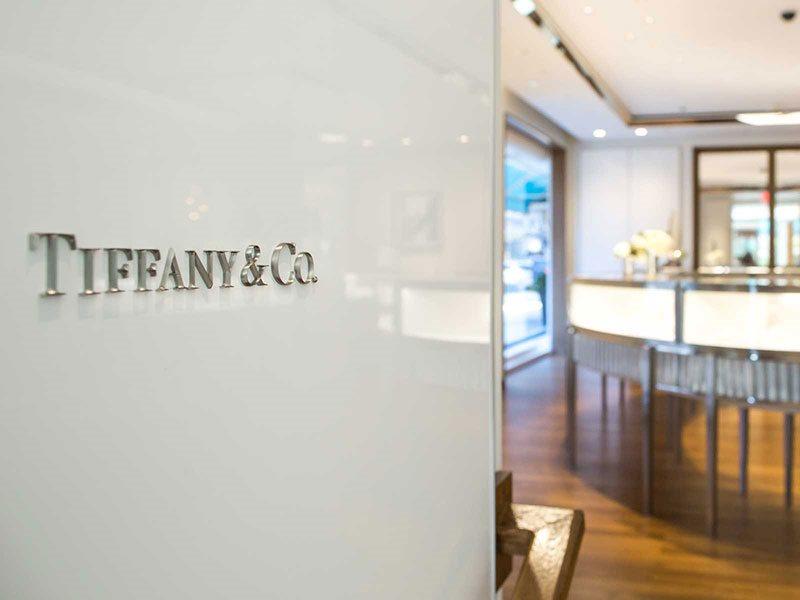 Tiffany & Co. store interior
