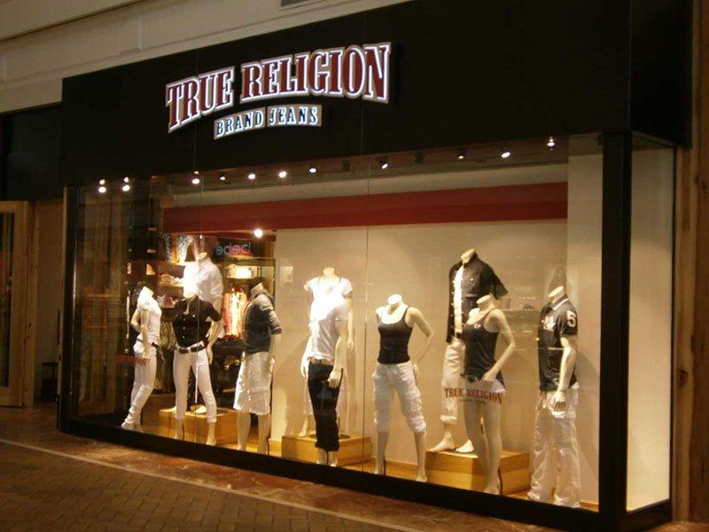 True Religion store exterior
