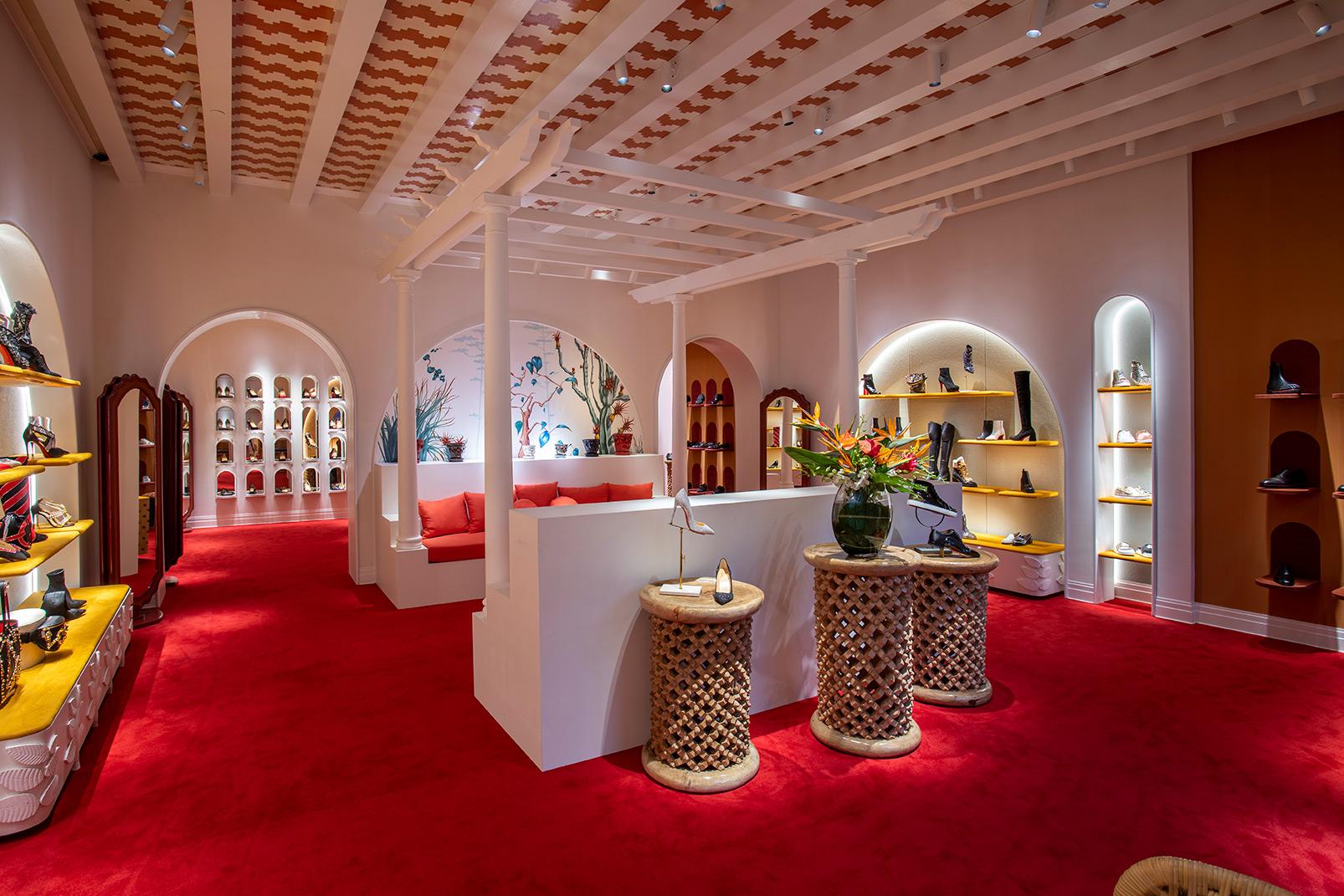 Christian Louboutin store interior
