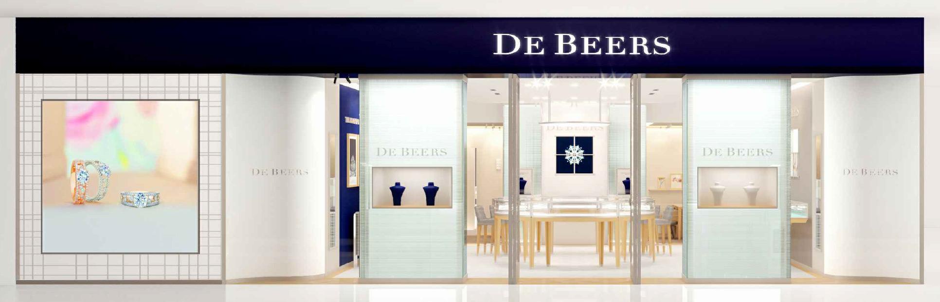 De Beers store exterior