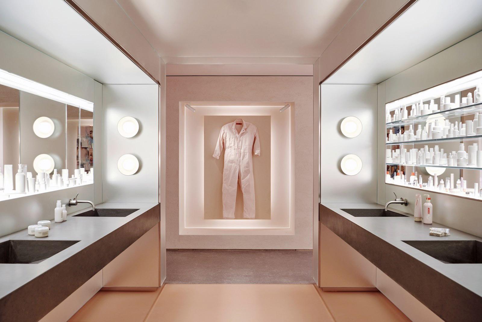 Glossier store interior