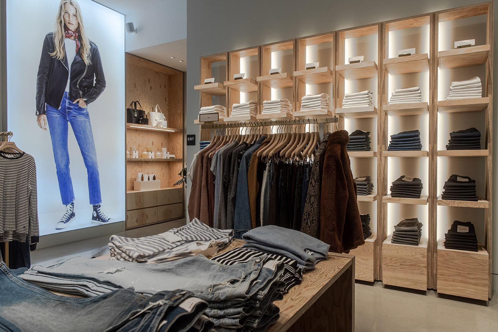Frame store interior