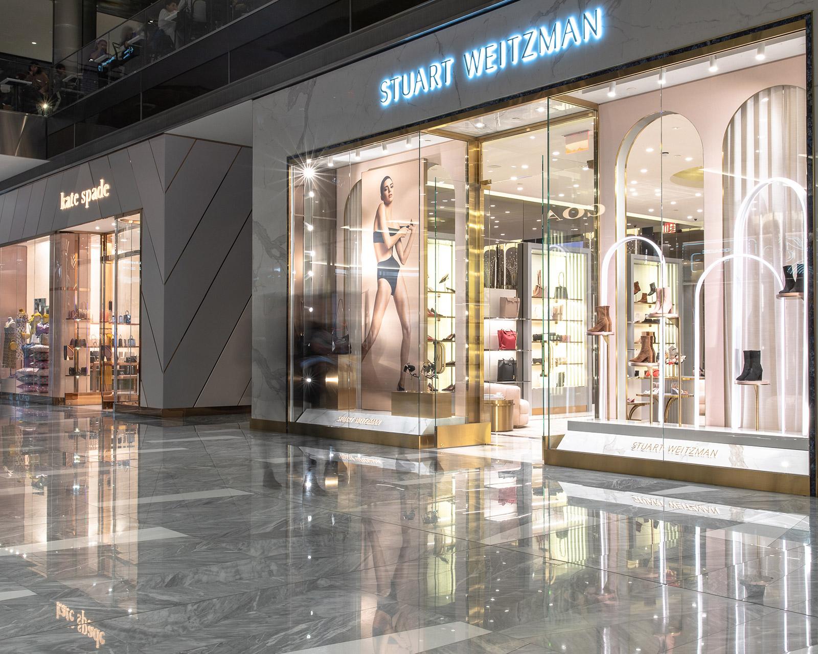 Stuart Weitzman store exterior