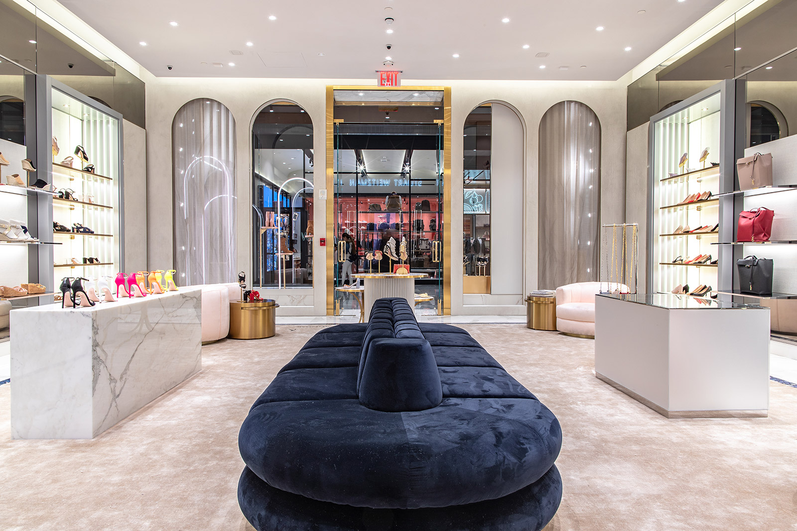 Stuart Weitzman store interior
