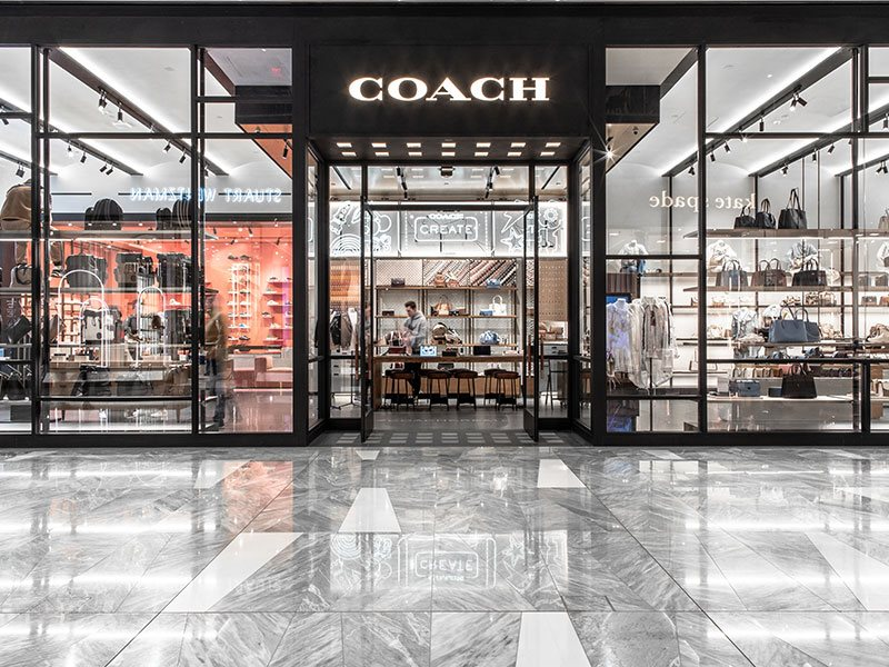 Coach store exterior