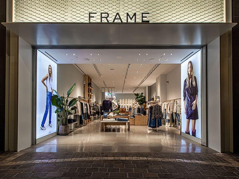 Frame store exterior