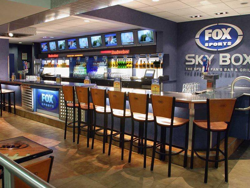 Fox Sports Sky Box - Boston Logan Airport